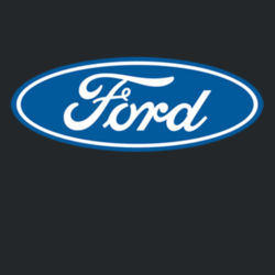 Ford Logo - Ladies V-Neck T Design