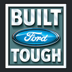 Built Ford Tough - Adult Fan Favorite Hooded Sweatshirt Design
