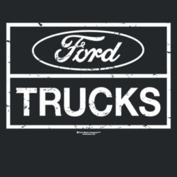 Ford Trucks - Adult Fan Favorite Hooded Sweatshirt Design