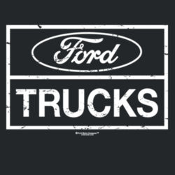 Ford Trucks - Ladies V-Neck T Design