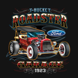 T-Bucket Roadster - Adult Premium Blend T Design