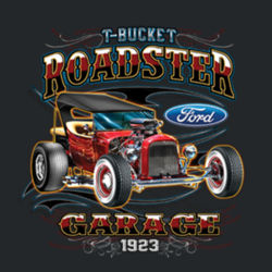 T-Bucket Roadster - Adult Fan Favorite T Design