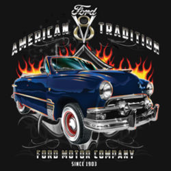American Tradition - Adult Premium Blend T Design