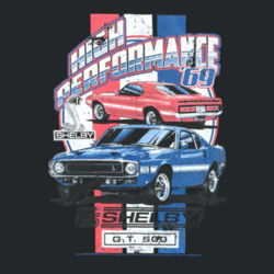 High Performance - Ladies V-Neck T Design