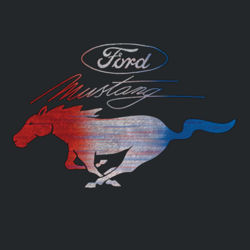 Mustang USA - Adult Fan Favorite T Design