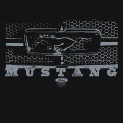 Mustang Grill - Ladies Perfect Blend T Design