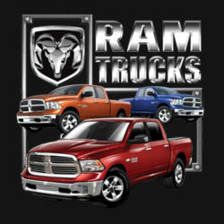 Ram Trucks - Adult Premium Blend T Design
