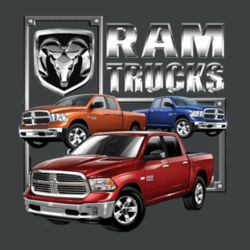 Ram Trucks - Ladies Tri-Blend Racerback Tank Design