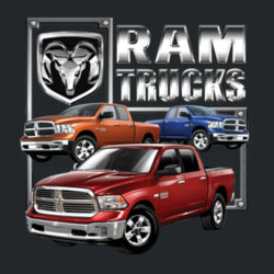 Ram Trucks - Ladies V-Neck T Design
