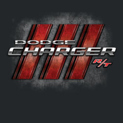 Dodge Charger RT - Ladies V-Neck T Design