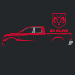 Red Ram - Adult Fan Favorite T Design