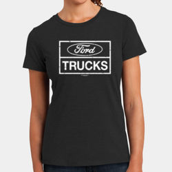 Ford Trucks - Ladies Perfect Blend T Thumbnail