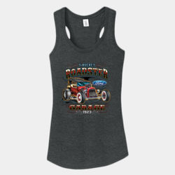 T-Bucket Roadster - Ladies Tri-Blend Racerback Tank Thumbnail