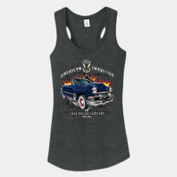 American Tradition - Ladies Tri-Blend Racerback Tank Thumbnail