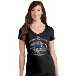 American Tradition - Ladies V-Neck T Thumbnail