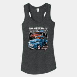 American Made - Ladies Tri-Blend Racerback Tank Thumbnail